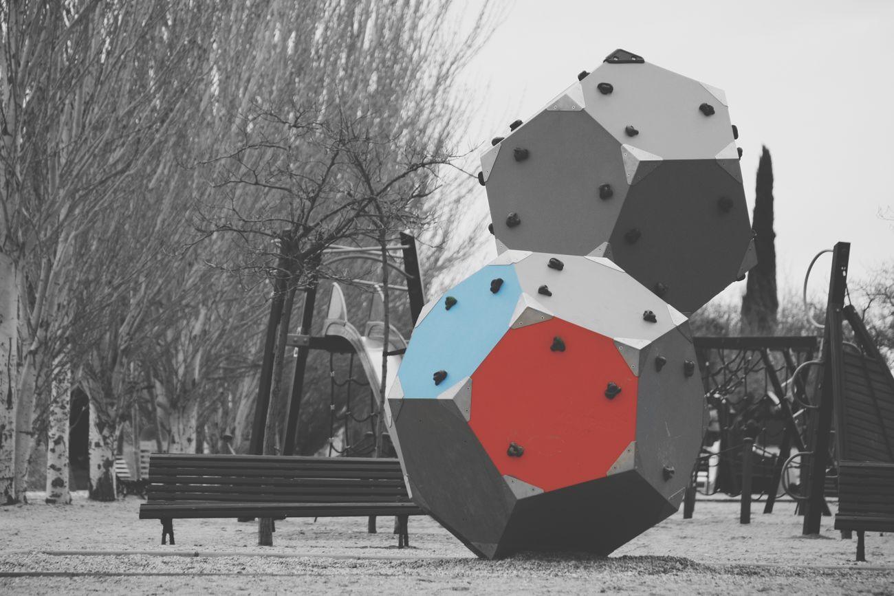 Arquitecture Park EyeEm Best Edits Red&blue Exterior Parque  Good Times