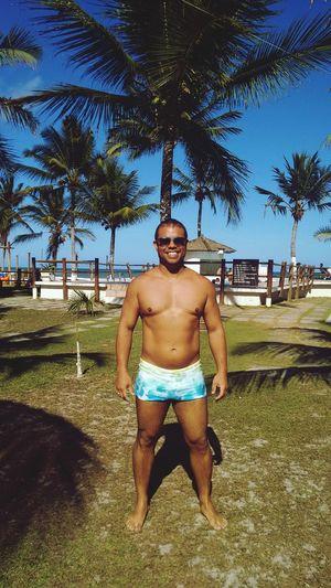 É verão na Bahia Beach Summer Vacations Itacare Bahia/brazil