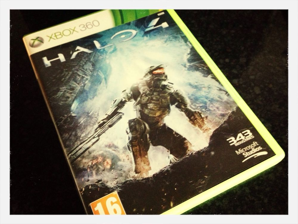 Halo 4 What Video Game Are You Playing?