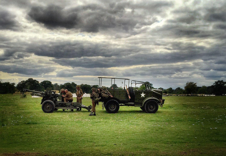 WW2 enactment Spletchley Gardens Having Fun Enjoying Life Taking Photos Iphone6plus People Watching