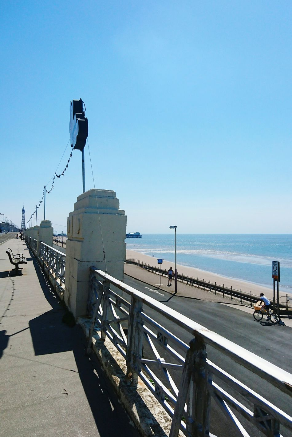 Sea Clear Sky Water Blue Tourism Outdoors Tranquility Holiday Day Out Promenade Seafront Away From It All Resort Going For A Walk Strolling Around Walking Around Check This Out Taking Photos Hello World