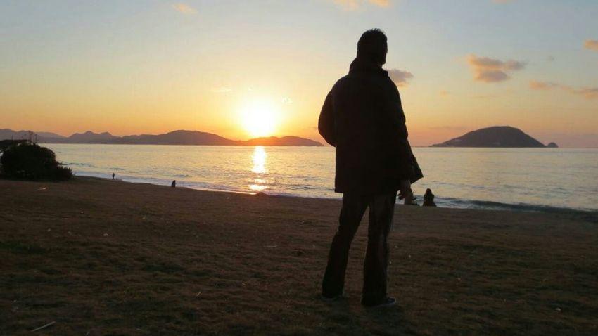 People Of EyeEm Seaside Sun Sky And Sea Sunset Hi! Hanging Out Taking Photos Nice View あとは頼んだ オレ様💕