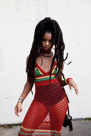 Afro Punk 2017 Portrait One Person Real People Beautiful Woman RASTA Afropunk