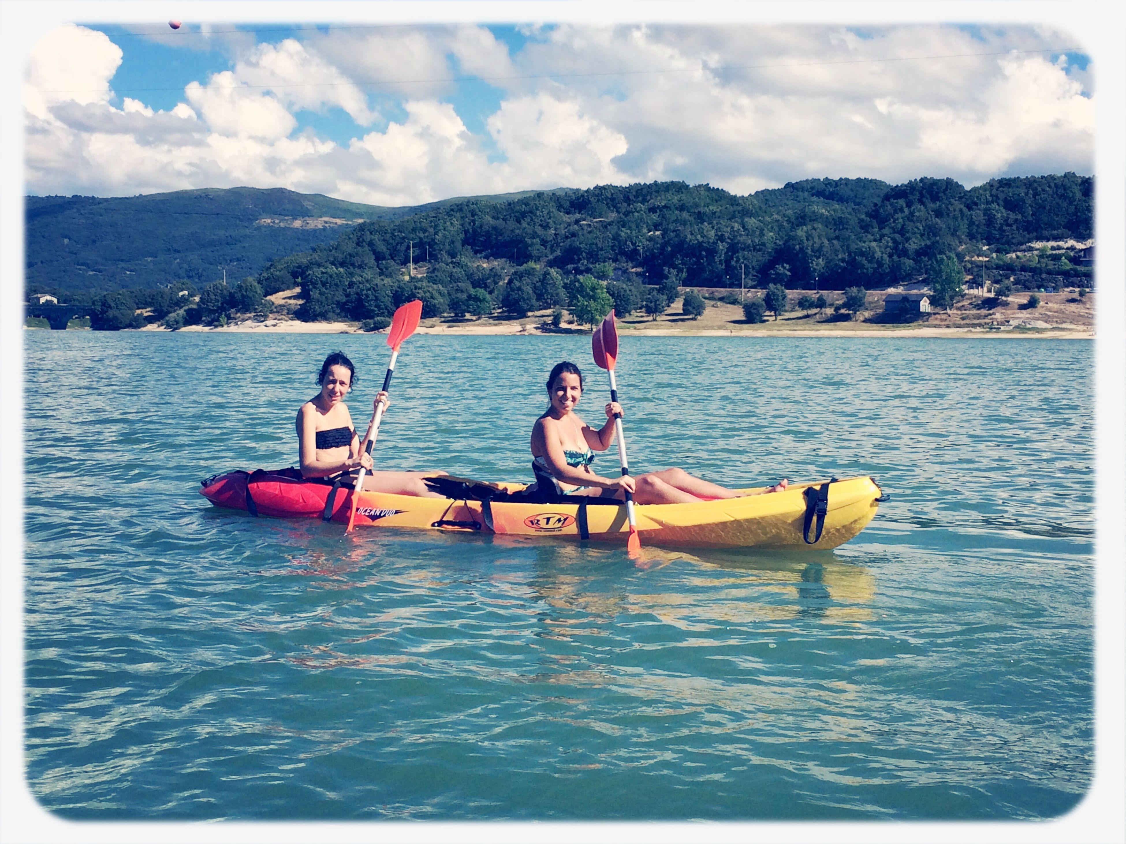 Kayaking Lake