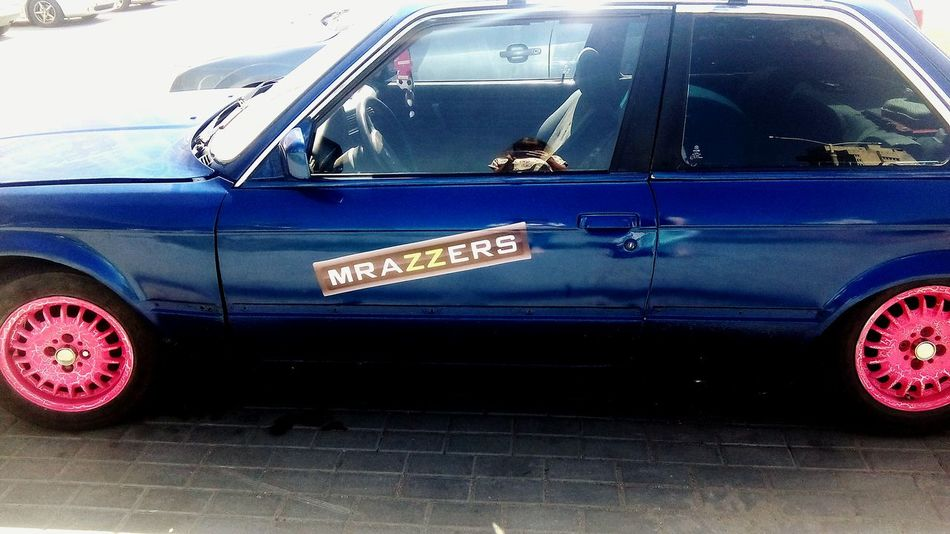 Car WTF Brazzers Blue Red