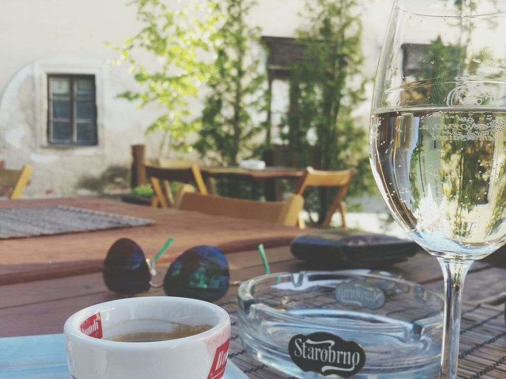 Wine Coffee Trip Holiday Summer Znojmo Czech Republic People Together Home Is Where The Art Is