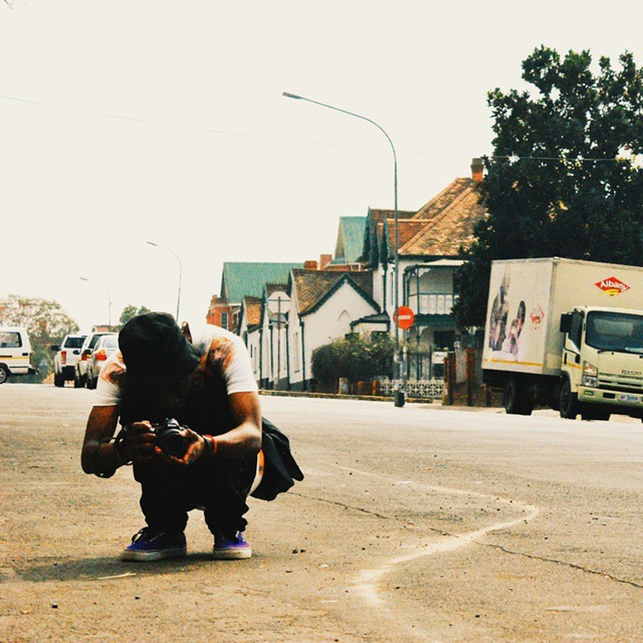 The faceless man. (1 of 2) Caught Somewhereinsouthafrica Instagram_sa Streetphotography nikon igers southafrica portrait faceless street instacool igmasters vsco vscophile vscolab vscosouthafrica albany truck contrast colour streetculture africa hot_shotz pietermaritzburg instawalk crouch angles vintage quaint 091014
