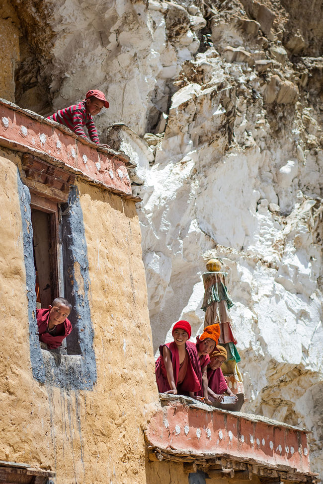 Architecture Place Of Worship Outdoors EyeEm Culture India EyeEm Best Shots EyeEm Gallery TheWeekOnEyeEM Travel Travel Photography The Week Of Eyeem Indiapictures Buddist Temple Buddhist Monks Budhism Ladakh Ladakhdiaries Monks Lama Temple Red People And Places