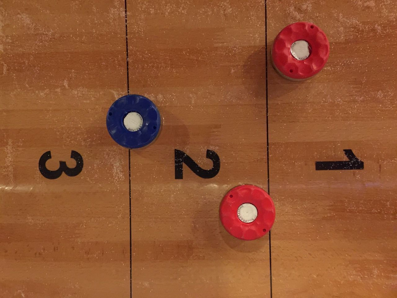 Scoring shuffle board Gametime Game Shuffle Board Shuffleboard Close-up Sport Wood - Material