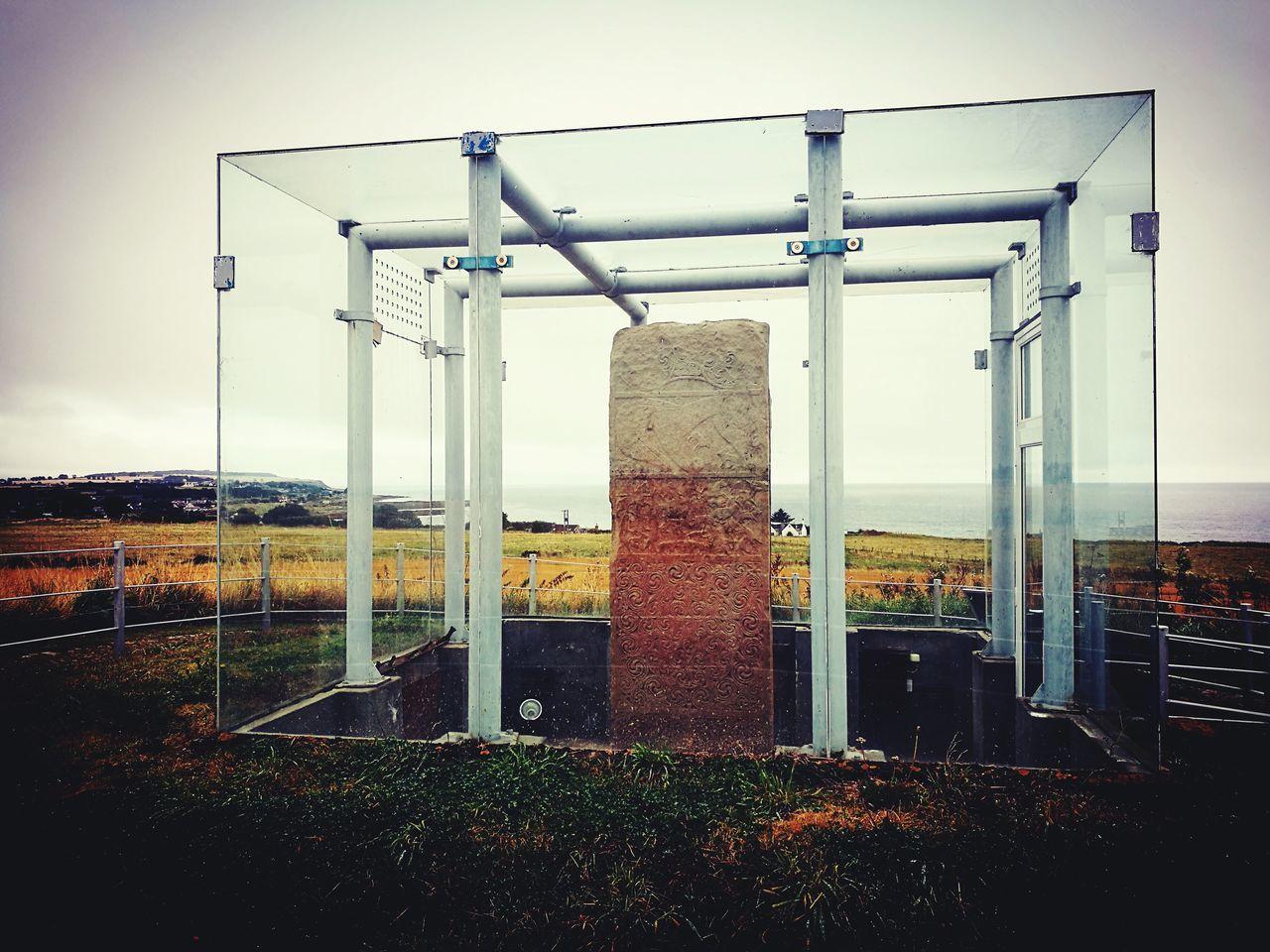Clach a' Charaidh Standing Stone, Shandwick, Tarbat, Scotland