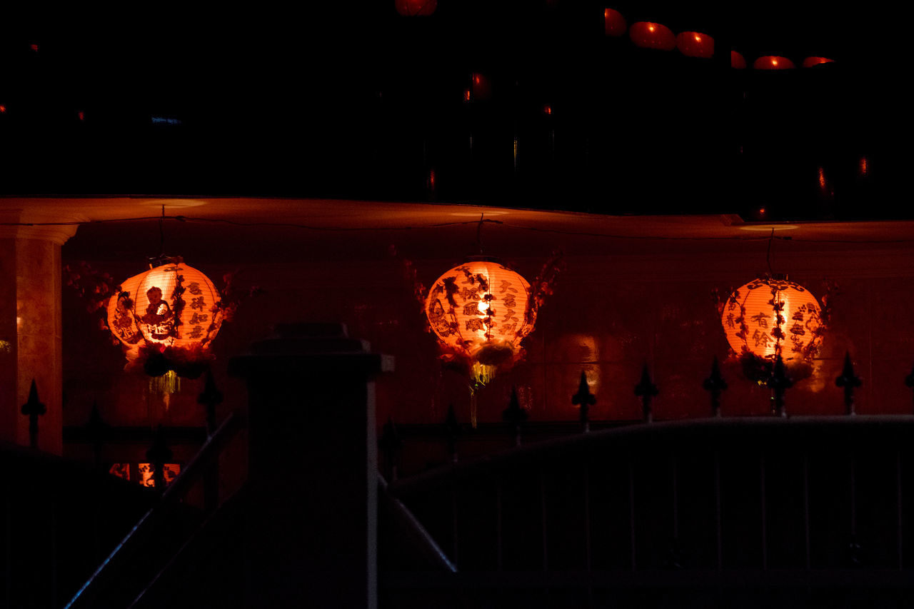 No People Outdoors Night Close-up Streetphotography Check This Out Night Lights Nightshot Chinese Lantern Cultures Lantern Hanging Night Photography Lighting Equipment Red Nature