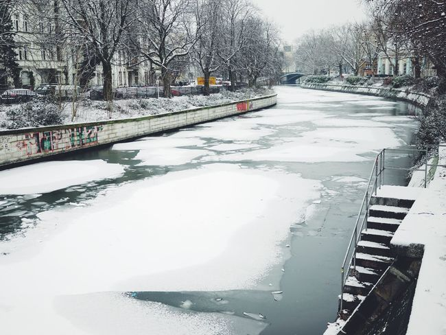 The canal next to the EyeEm Berlin studio // Winter Wonderland Winter