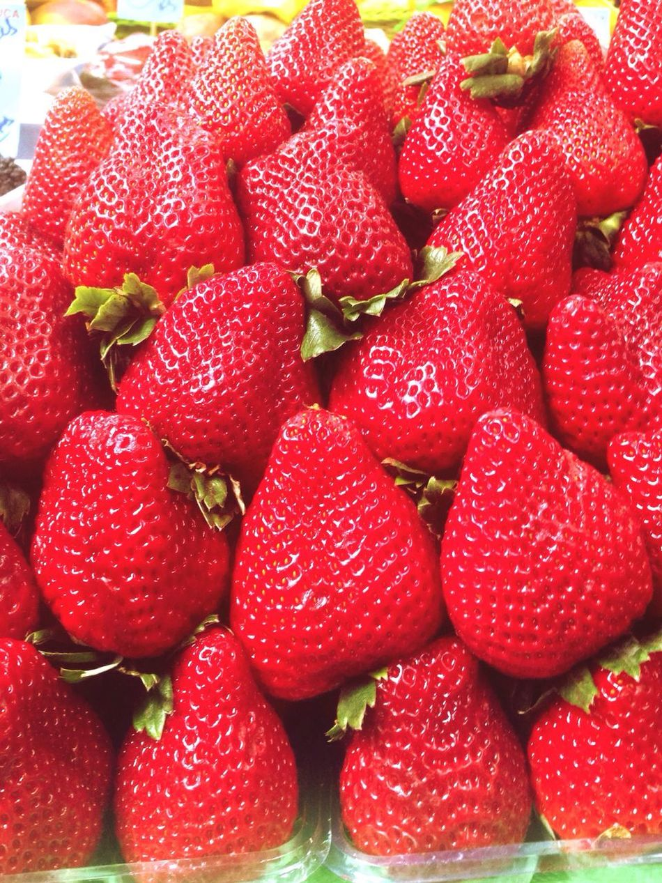 Strawberries Close-up Food And Drink Red First Eyeem Photo