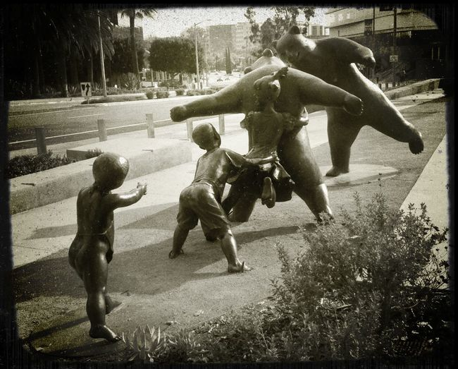 Play Time Surrealism Bears Children Fantasy Dreaming Art