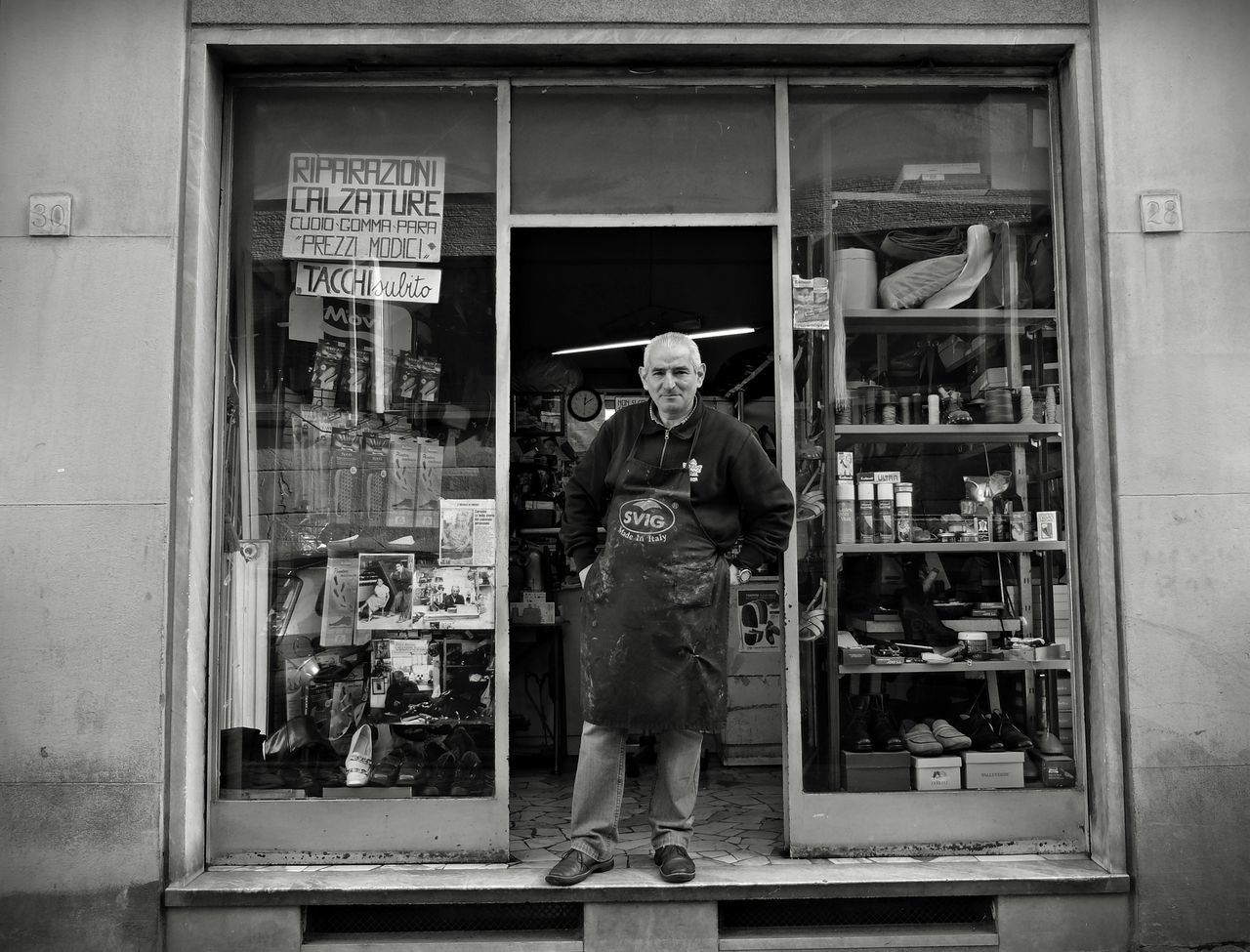 The cobbler Black & White Blackandwhite Blsckandwhite Business Business Finance And Industry One Man Only One Person Store Street Photography Streetphoto_bw Streetphotography