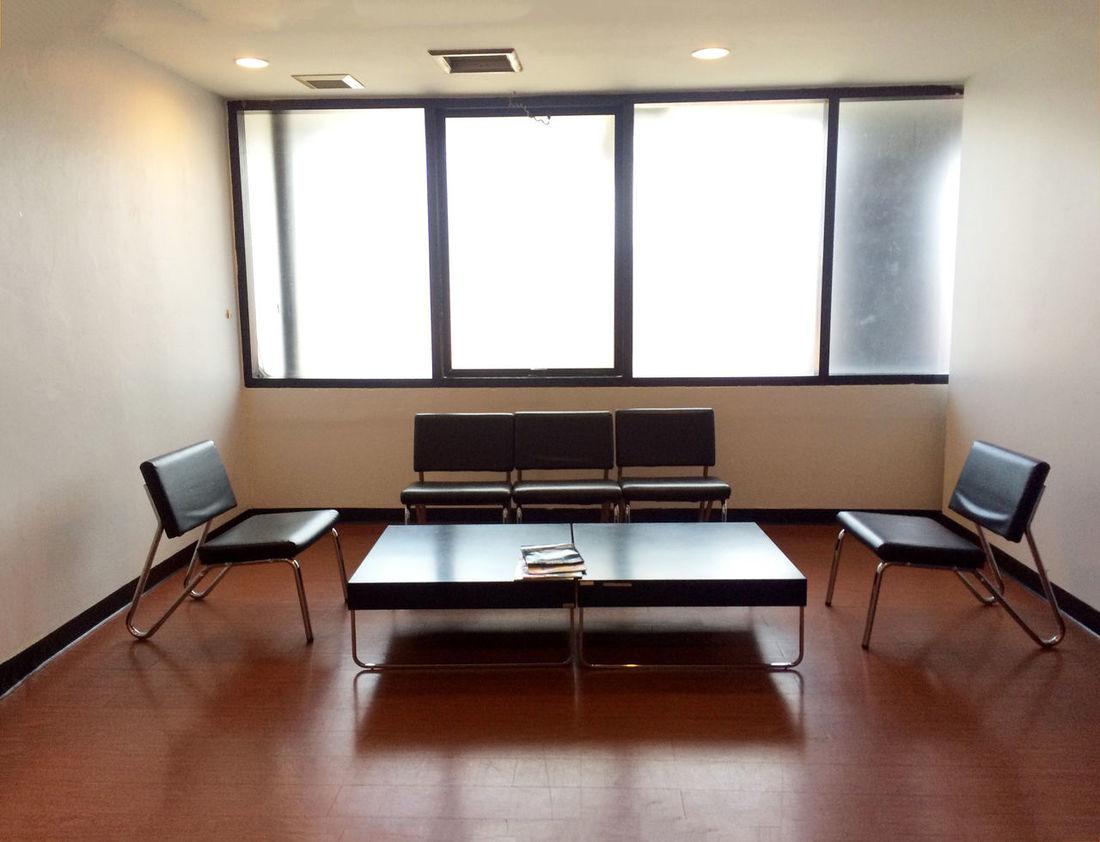 Absence Empty Illuminated No People Relaxing Room Shinny Floor Waiting Room Window