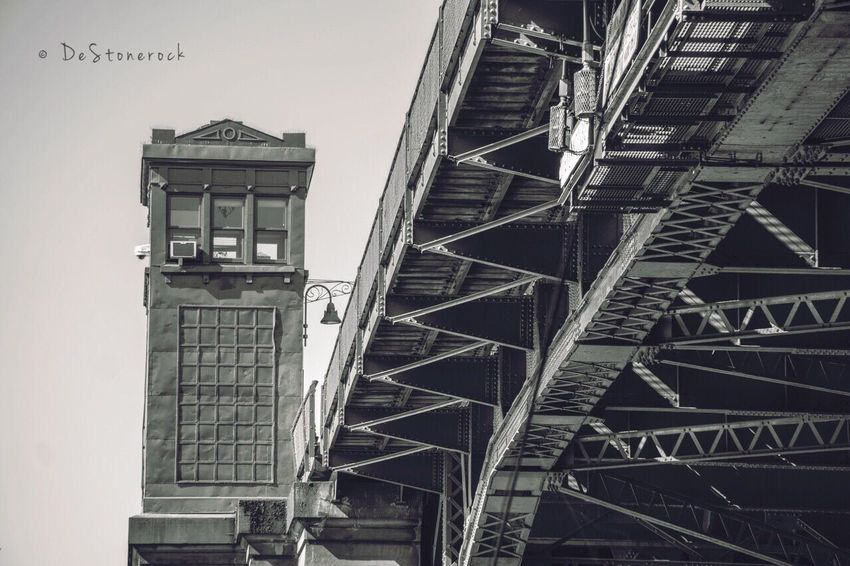 Architecture Built Structure Low Angle View Outdoors Bridge Fremont Taking Pictures Travel Destinations Travel Photography Photography Testing Camera Camera Practice Blackandwhite Black And White Blackandwhite Photography B&w
