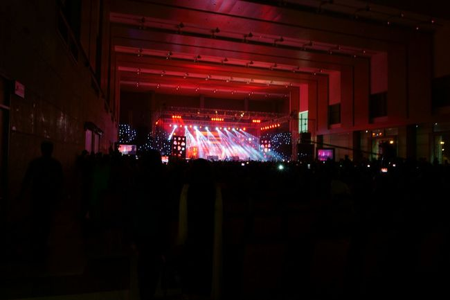 Raw Photography Sony A6000 Concert Musical Concert Music Photography  Stage Lights Lighting Just Chillin' ✌ Interior Views Night Having Fun The Enhanced Human Night Photography Night Lights Still Life Musical Photos Long Exposure Vanishing Point Fine Art Negetive Space Indoor Activities Musical Night Bashundhara Convention Hall in Dhaka, Bangladesh