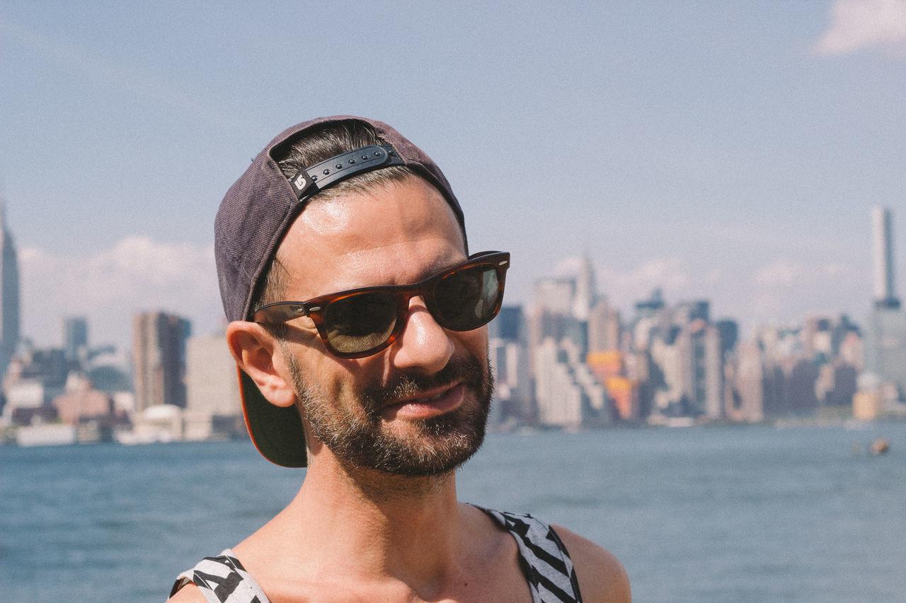 Beautiful stock photos of new york, 35-39 Years, Cap, Caucasian Ethnicity, Close-Up