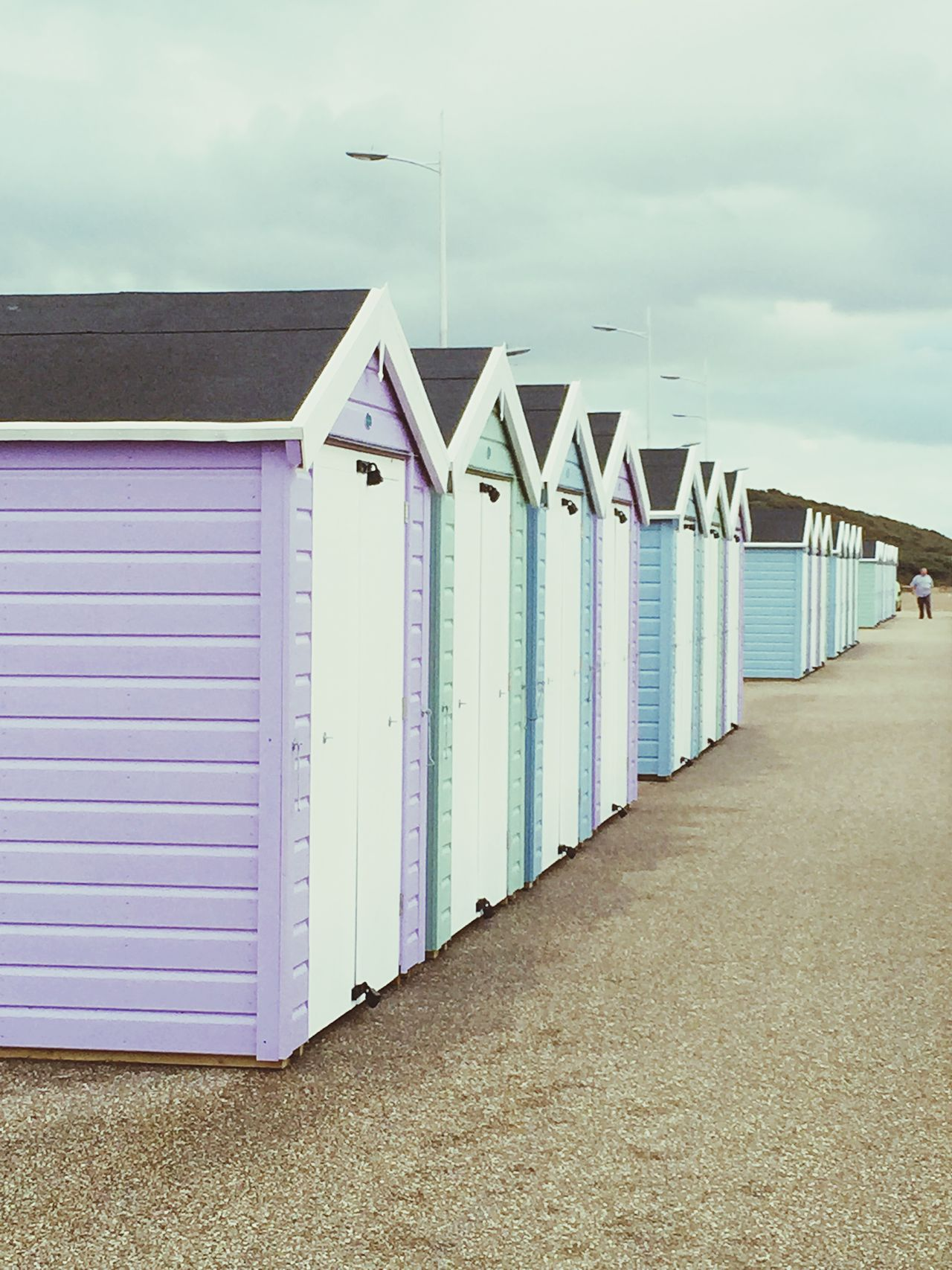 Beachhuts Beach Photography Seaside Fresh Open Air Pastel Huts Wood House Escaping Sea View
