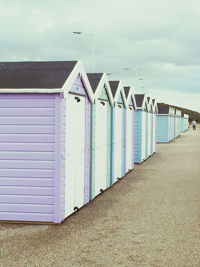 Beachhuts Beach Photography Seaside Fresh Open Air Pastel Huts Wood House Escaping Sea View