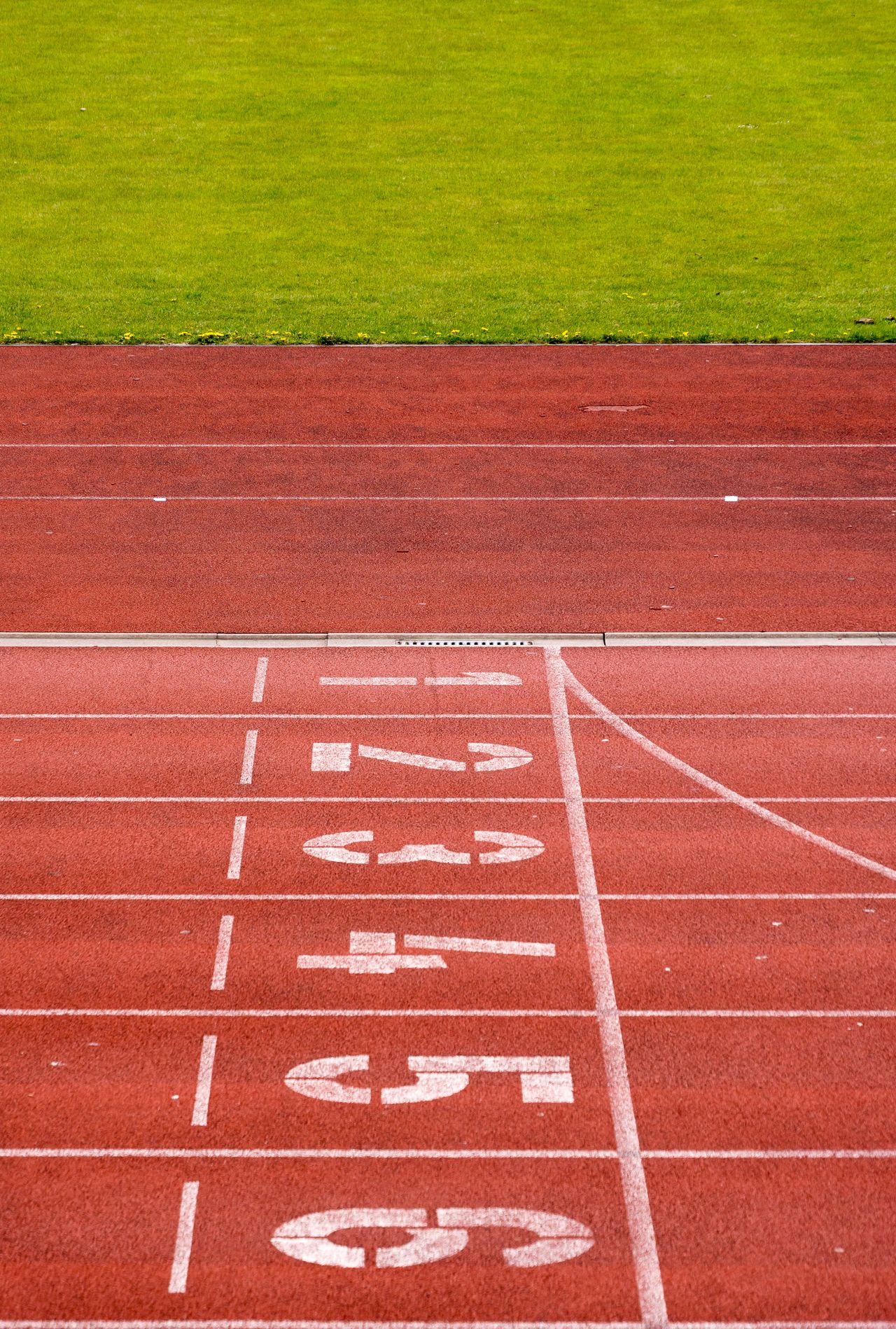 Absence Day Finish Line  Grass High Angle View Hopscotch No People Number Objective Outdoors Red Running Track Sport Sports Race Sports Track Starting Line Target Team Teamwork Track And Field Track And Field Event Track And Field Stadium Track Event Break The Mold