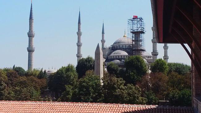 Blue mosque under construction Beautiful EyeEm Eyemphotography Best Photos Turkeyphotooftheday Turkey Mosque Photography
