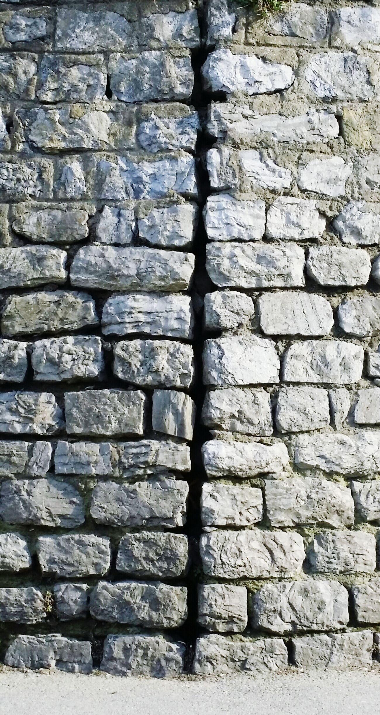 Stone Wall Street Knitting Wall