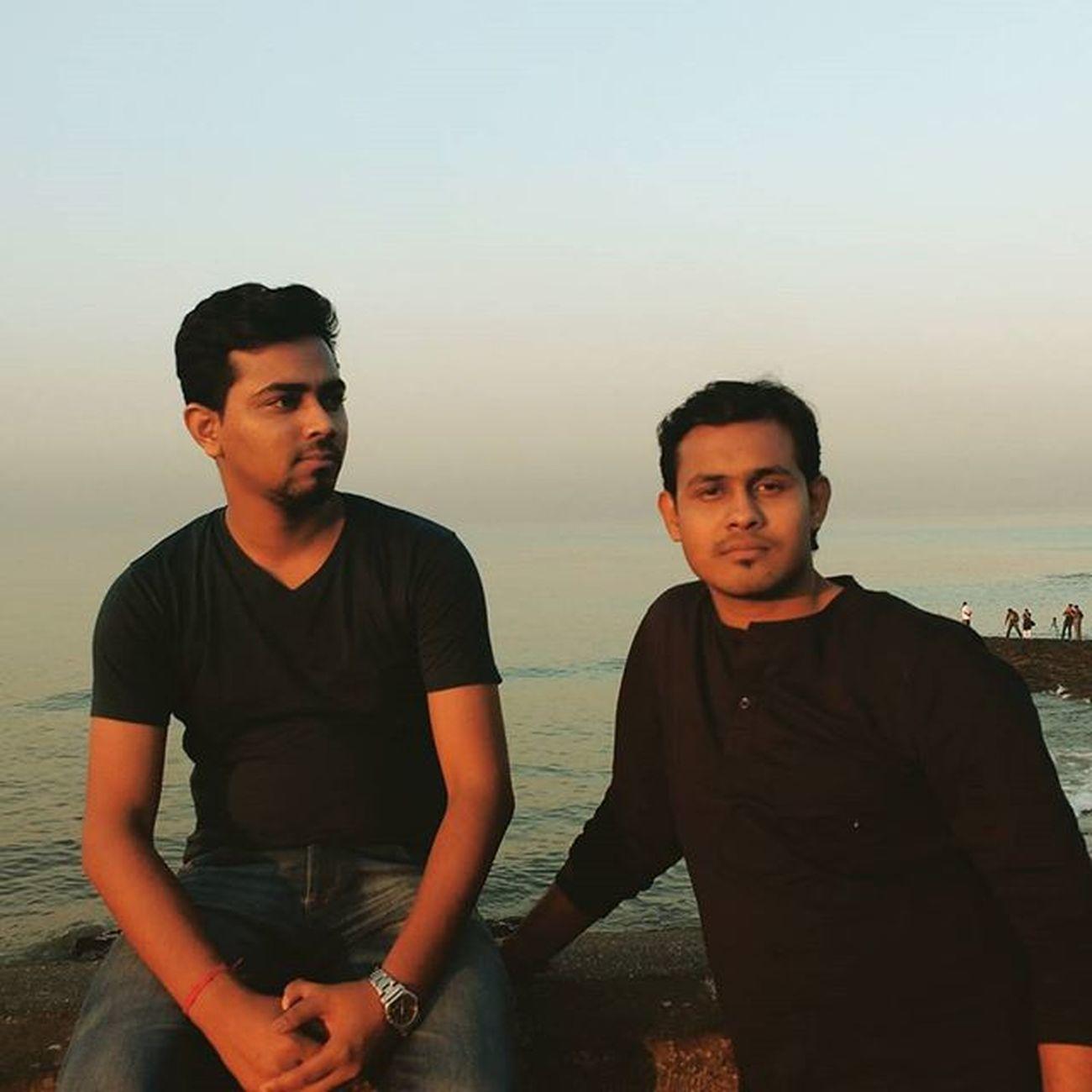 Dassaumen Saumendas Saumen Das Dass Sdas SD Sid People Photography Morningphotpgraphy Seaview Sea Funwithfriends Fun Bandra Bandraworlisealink Mumbai