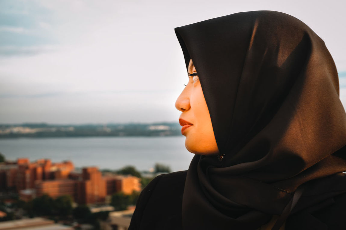 Adult Adults Only Baseball Cap Close-up Day Fujifilm Fujifilm_xseries Headshot Hijab Hijabfashion Hijabstyle  One Man Only One Person Only Men Outdoors People Portrait Portrait Of A Friend Portrait Of A Woman Portrait Photography Portraits Sky Young Adult Uniqueness