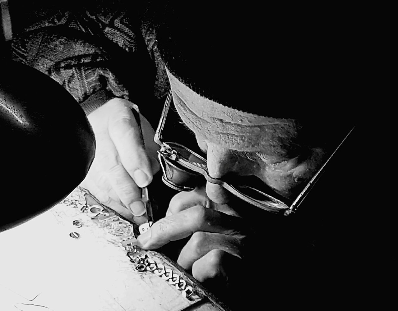 Human Hand One Person People Close-up Man Man At Work Worker Work Ancient Work Ancient Workplace Passione Black & White Timeless Time Whattimeisit