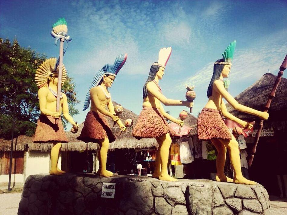 Indios da praia coroa vermelha - porto seguro, bahia Travel Culture Ontheroad