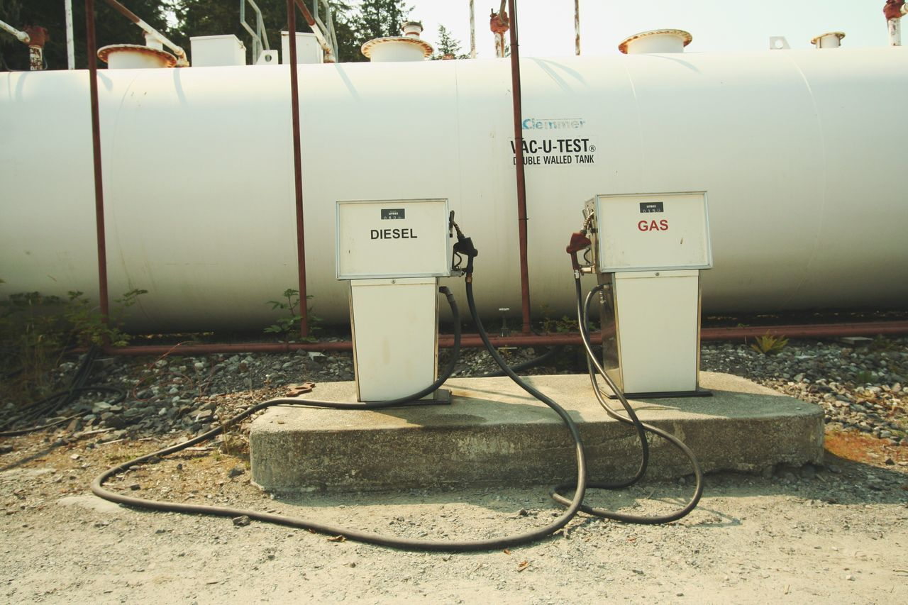 fuel and power generation, day, no people, communication, outdoors, fuel pump, technology
