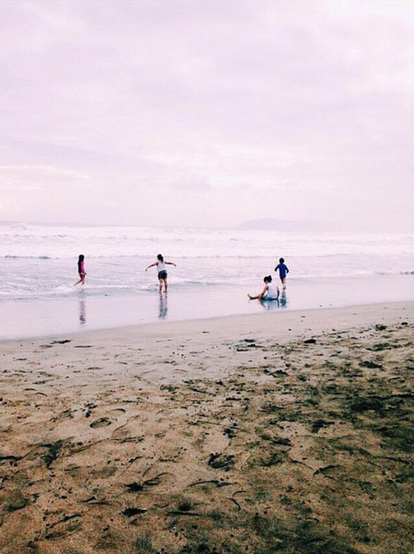 Protecting Where We Play Beach Enjoying Life Stolen Kids Playing