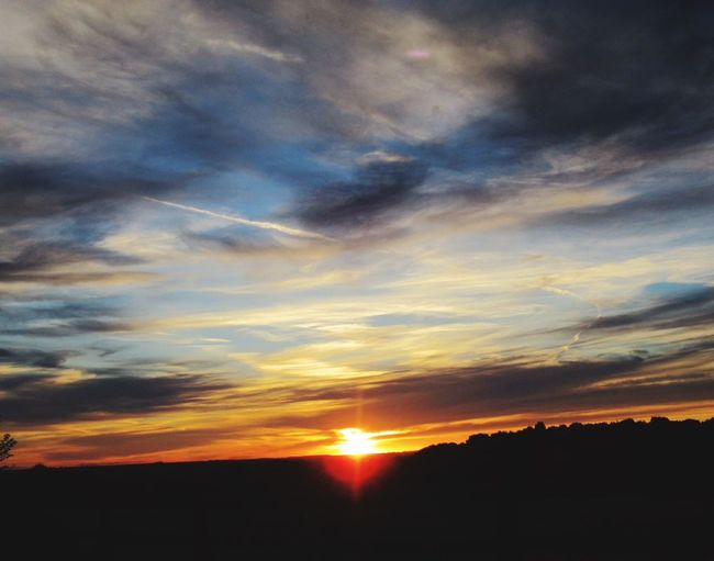 Derbyshire Sky And Clouds EyeEm Nature Lover Sunset