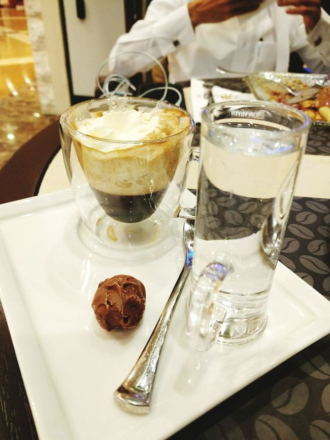 .. and some coffee after that ? Coffee Whipped Cream Esspresso Mocarabia The Pearl, Doha Doha Qatar
