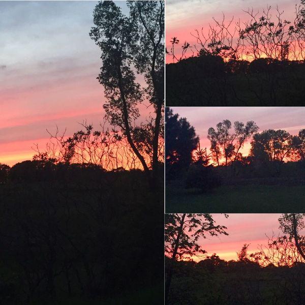 End of the day beauty!! Naturesbeauty Beautiful Sunset WisconsinSunset Beautiful Sunset