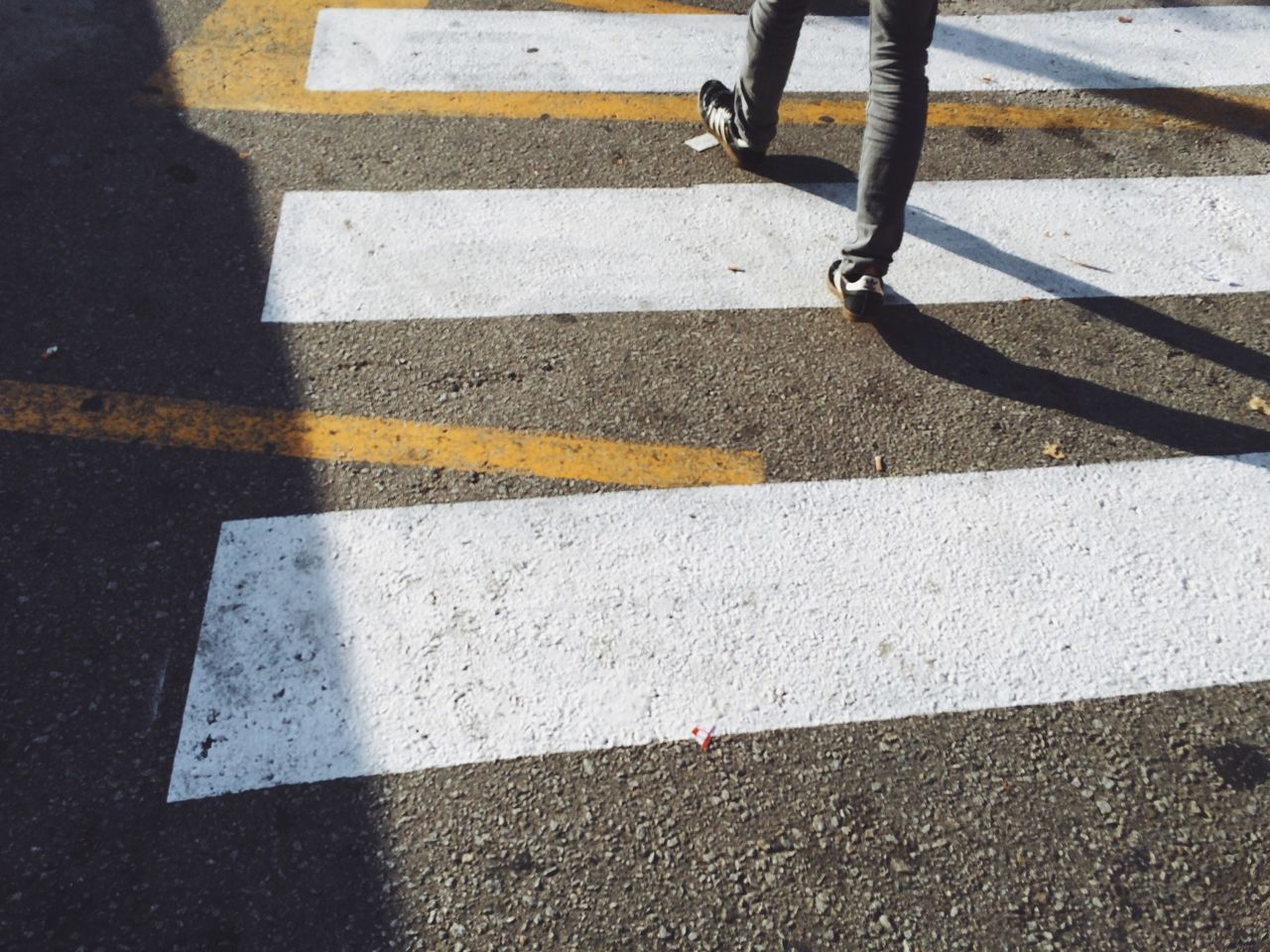 Beautiful stock photos of zebra, Crossing, Day, Human Leg, Low Section
