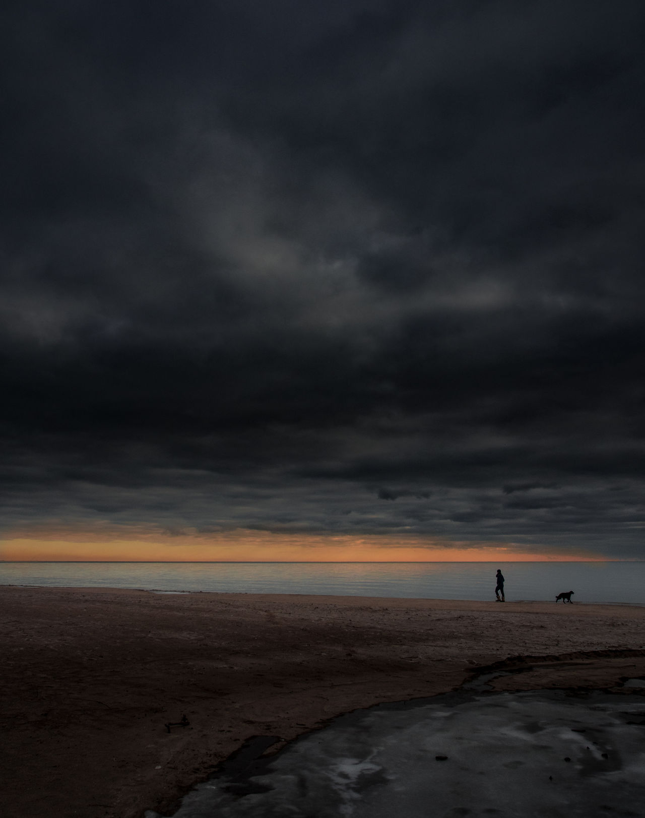 Adult Adults Only Beach Beauty In Nature Cloud - Sky Day Dramatic Sky Full Length Horizon Over Water Nature One Man Only One Person Only Men Outdoors People Sand Scenics Sea Silhouette Sky Standing Storm Cloud Sunset Water