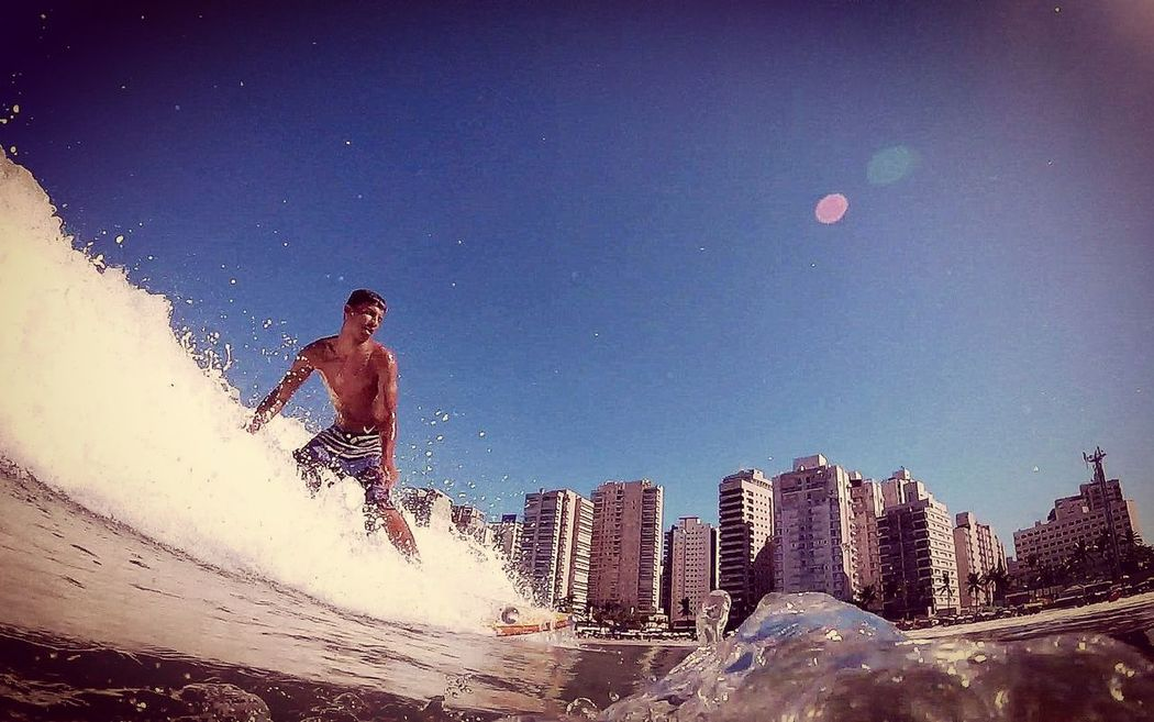 Aloha Waves Longboard Asturiasbeach ILoveWater Surf's Up Goprohero+lcd Mahalo Blue Wave Gopro 18-030 Surf Water Sea Wave Guarujá Fotografiaaquatica Surfdepeso