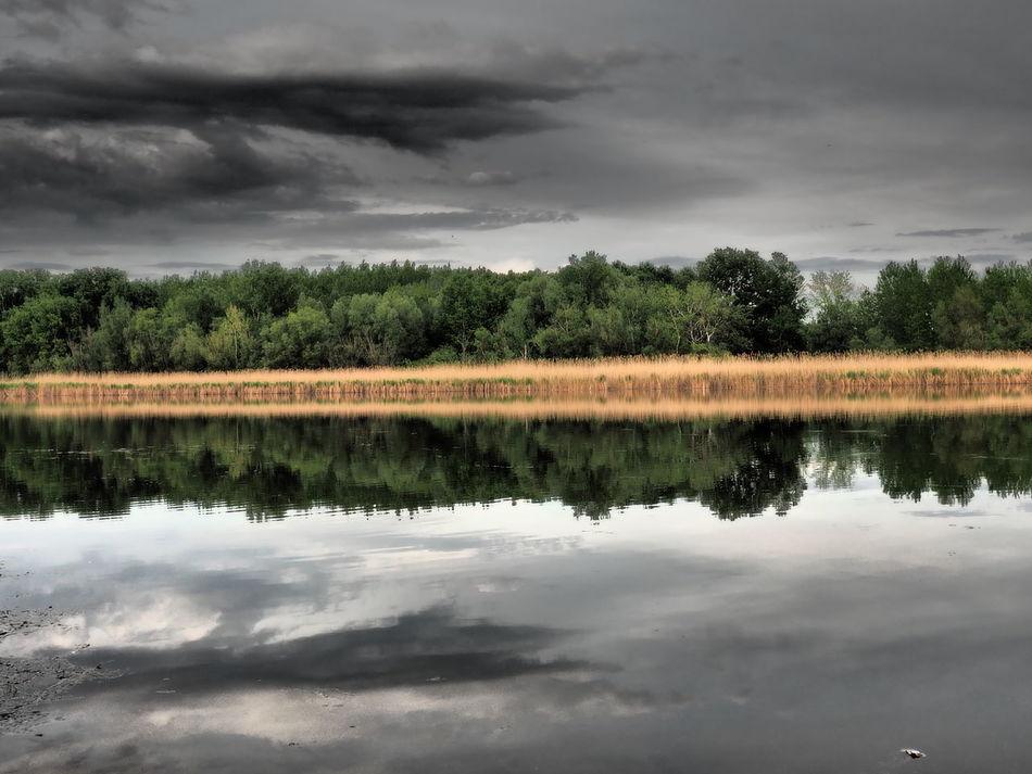 Beauty In Nature Calm Danube Danube River Dead Danube Faddi Duna Idyllic Nature Outdoors Reflection Riverside Riverside Photography Riverside View Sky Tranquil Scene Tranquility Water
