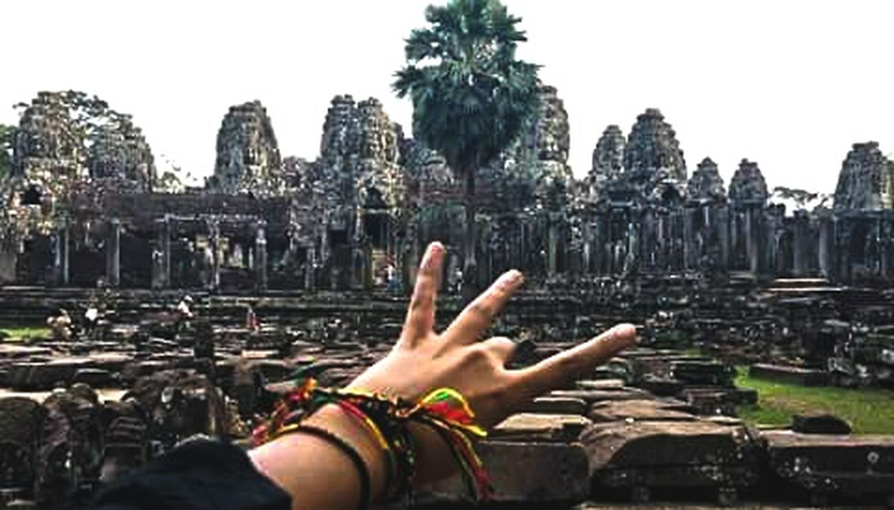 The most striking expression of the baroque style of khmer architecture. Bayon Temple Angkor Thom Siem Reap Cambodia Travel Photography