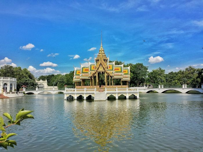 The Divine Seat of Personal Freedom    Travelling Traveling Travels Travel Summer Pavillion Palace Touring Prathetthai Summer Palace