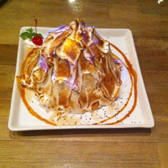 Desert Alaska Cake