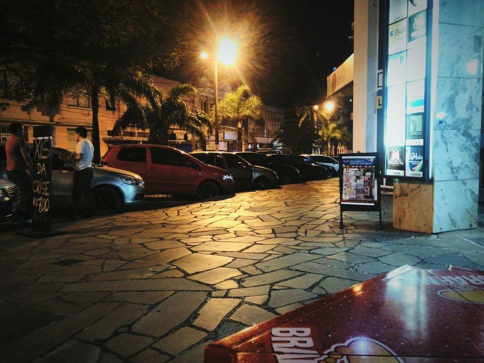 Night Photography Hello World