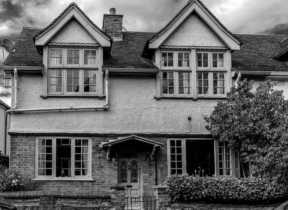 Arts and Crafts house, Bury Street, Newport Pagnell, Buckinghamshire Buckinghamshire Monochrome Newport Pagnell Black And White Architecture Houses