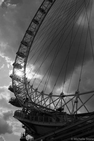 Ferris Wheel Arts Culture And Entertainment Sky Cloud - Sky Built Structure Amusement Park Outdoors No People