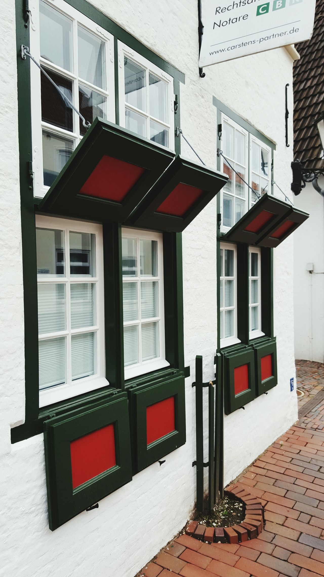 Schöne Fensterläden Eiderstedt Nordseeküste