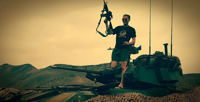 Me enjoying myself in Djibouti, Africa Majestic Outdoors Remote Africa USMC