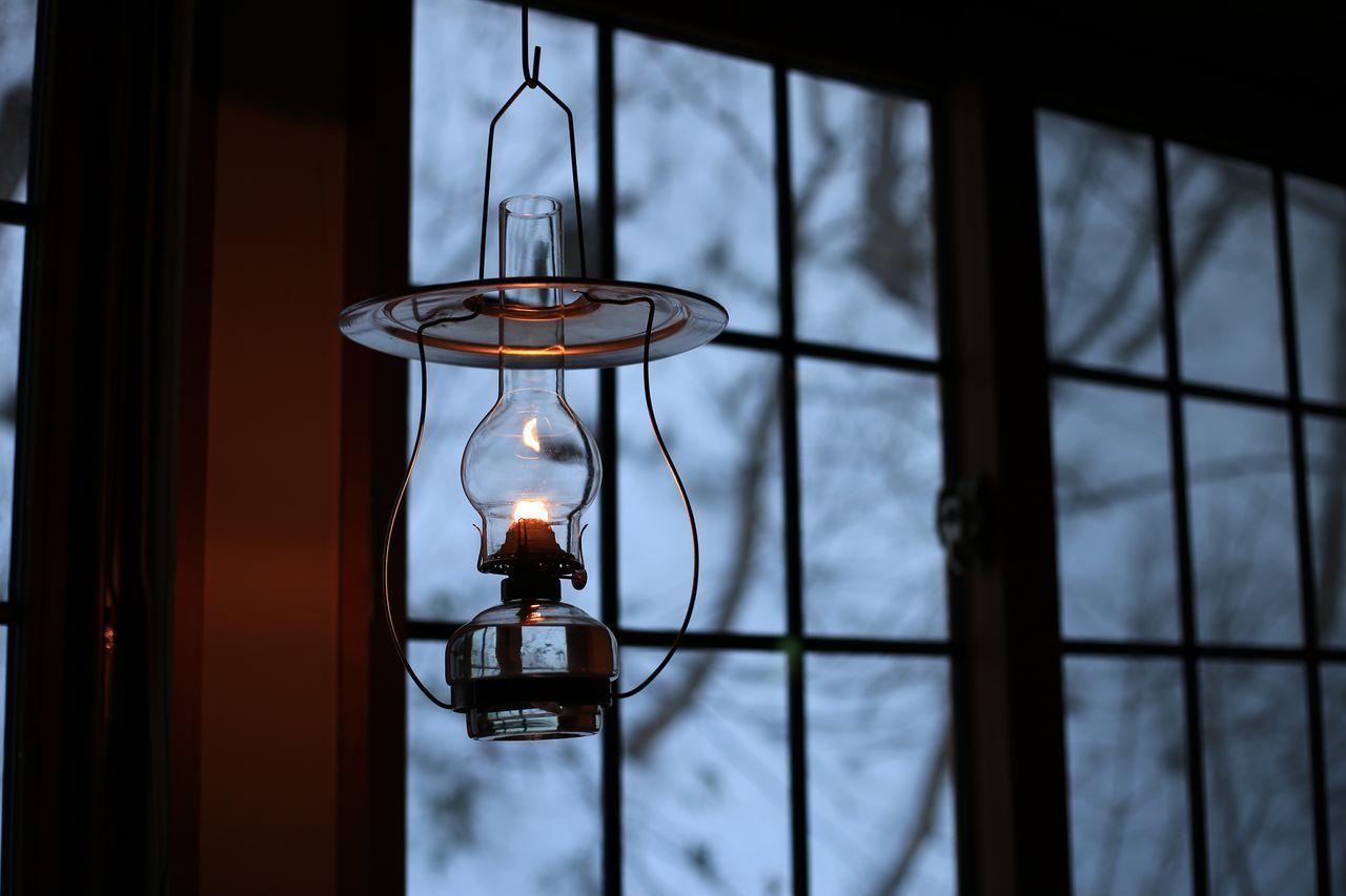2016 Aomori Aoni Onsen Candle Hotel Japan Lamp Lamp No Yado Light Night Oil Lamp Onsen Winter ランプ ランプの宿 青森 青荷温泉 Window Snow